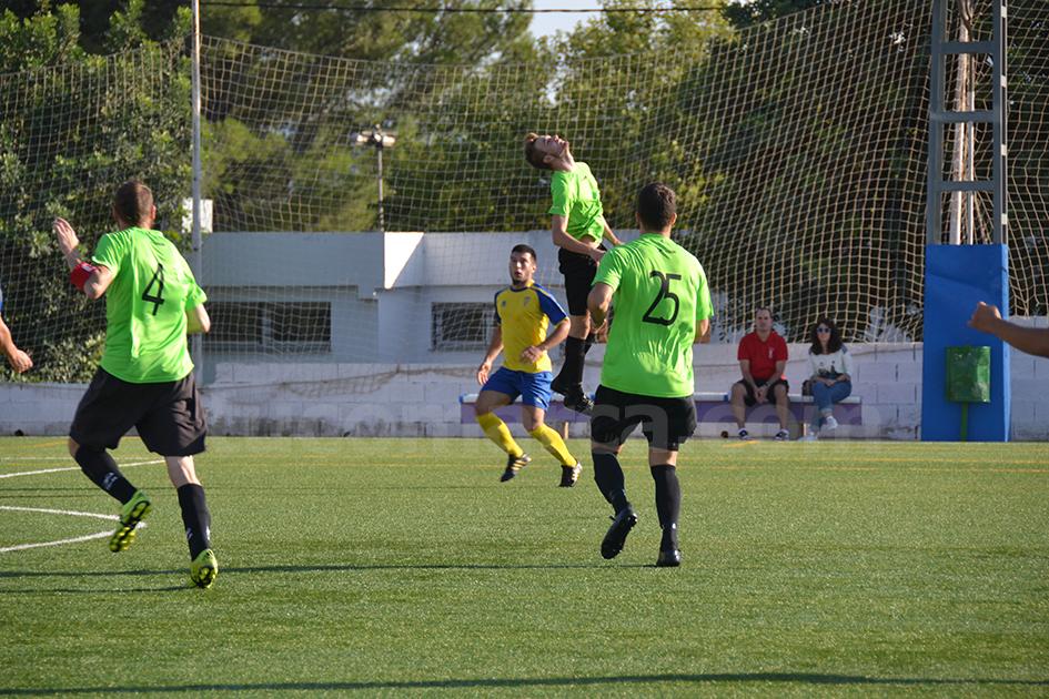 La UD Yátova ha obtenido una nueva victoria en esta ocasión frente al Fonteta. Foto: Raúl Miralles.