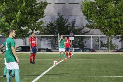 El Atlético de Macastre y el Chiva CF ofrecen el derbi de la jornada. Foto: Raúl Miralles.