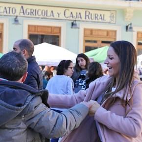 La plaza Doctor Cajal de Cheste acogió la II Jornada por la Inclusión.