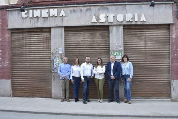 Desde el PRyA proponen la adquisición del antiguo Cinema Astoria para acondicionarlo como un nuevo teatro.