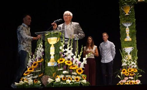 Francisco Ferrer Ramos, premio especial a toda una vida dedicada al deporte del ajedrez.
