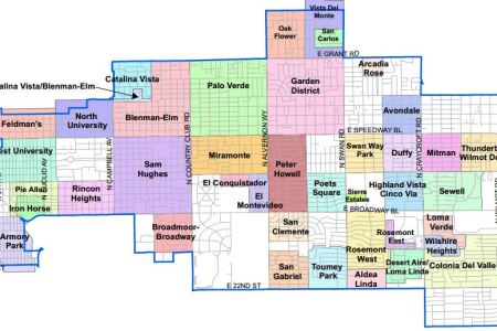 map of downtown tucson az » [Home Decorations] - HD Picture of ...