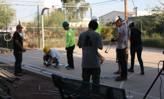 Workers from the Tucson Electrical JATC
