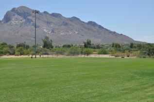 sports fields at Canada Del Oro Riverfront Park