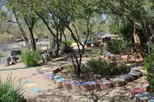 Case Park garden