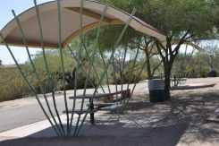 Case Park small shaded tables