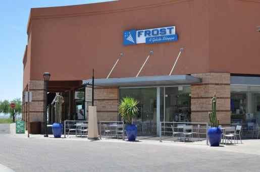 Frost Gelato at La Encantada