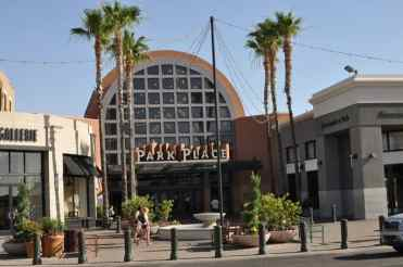 Park Place Mall main entrance