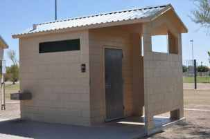 Purple Heart Park restrooms (one of two in the park)