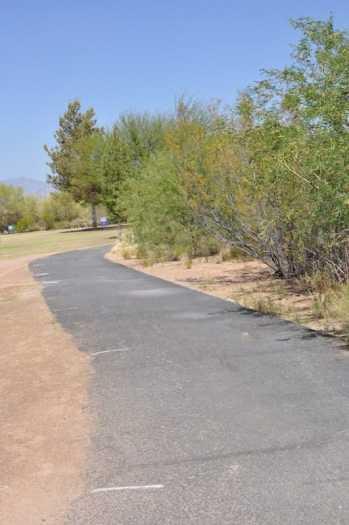 Purple Heart Park walking paths