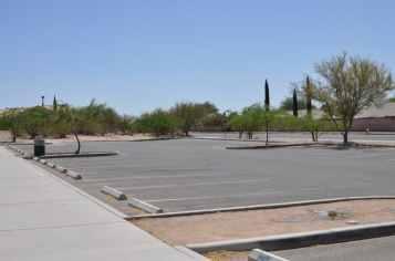 Purple Heart Park west parking lot