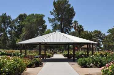 Rose Garden Ramada at Gene C Reid Park