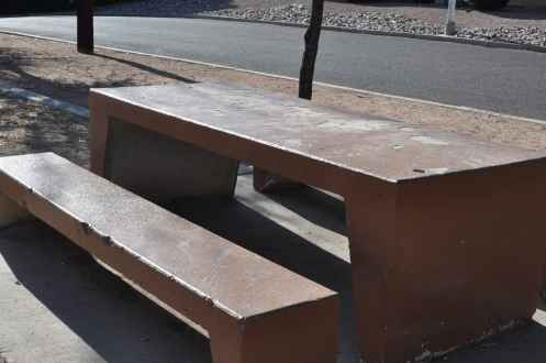 Wilshire Park 2nd picnic table