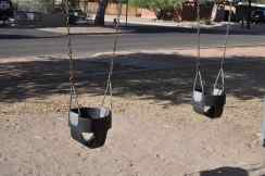 Wilshire Park baby swings
