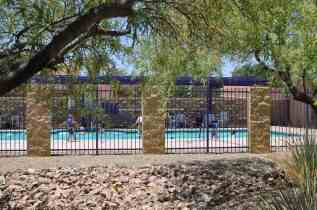 There are two swimming pools in Civano