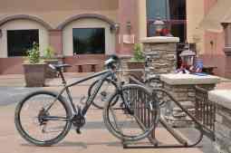 bicycle in front of Club Rancho Sahuarita