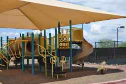 covered playground at Coyote Creek