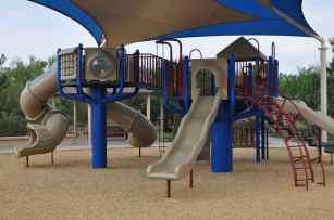 covered playgrounds are plentiful at Rancho Sahuarita