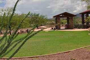 grassy common area at Coyote Creek Recreation Center