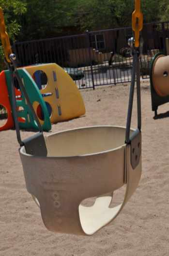 infant swing at Civano tot lot