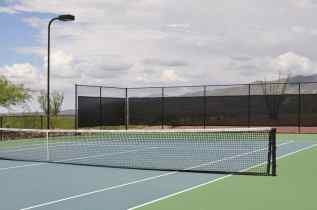 lighted tennis courts at Coyote Creek Recreation Center
