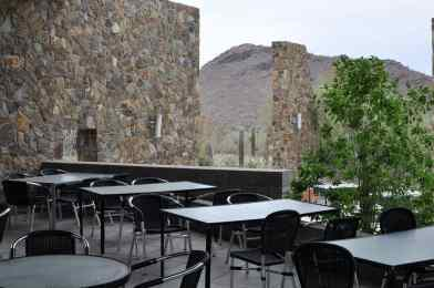 outdoor seating at Ironwood Terraces