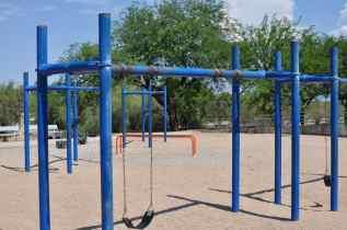 playground at Abraham Lincoln Regional Park