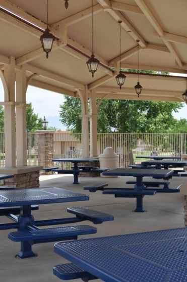 pretty picnic area at Rancho Sahuarita