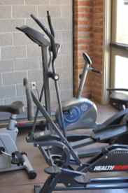 small workout area in Civano's community center