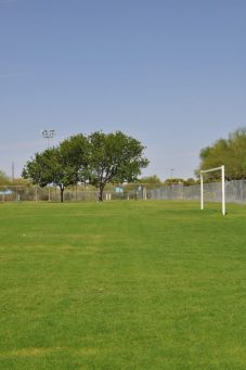 soccer field at Abraham Lincoln Regional Park