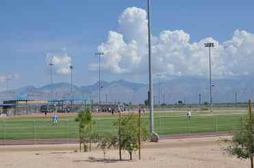 softball field at Abraham Lincoln Regional Park