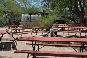 Cottonwood BBQ Area at Tanque Verde Ranch