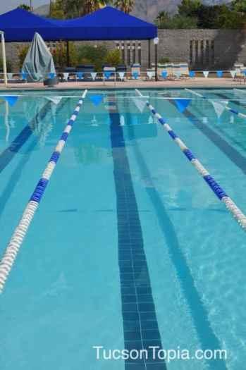 Outdoor Swimming Pool at Tucson Jewish Community Center