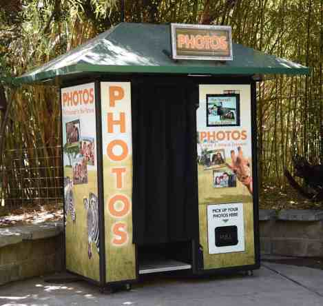 Photo Booth Reid Park Zoo