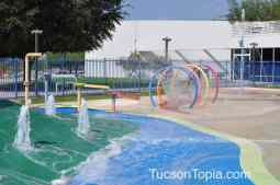 Tucson Jewish Community Center has one of the best splash pads in Tucson