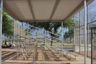 bleachers at Morris K Udall Park
