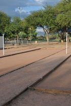 bocce courts at Morris K Udall Park