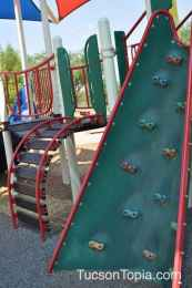 climbing wall at Brandi Fenton Memorial Park