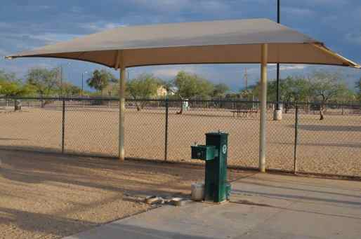 dog park at Morris K Udall Park