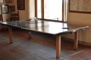 ping pong at Tanque Verde Ranch