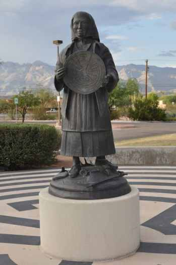 sculpture at Morris K Udall Park
