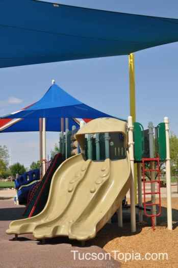 slides at Brandi Fenton Memorial Park