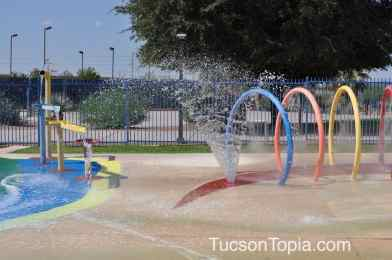splash park at Tucson Jewish Community Center