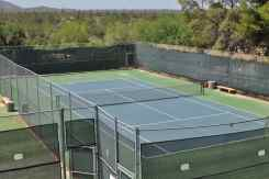tennis court at Tanque Verde Ranch