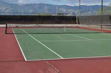 tennis courts at Morris K Udall Park
