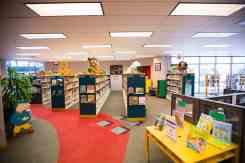 Children's Room at the Joel D. Valdez Main Library