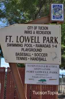 Fort Lowell Park in Tucson