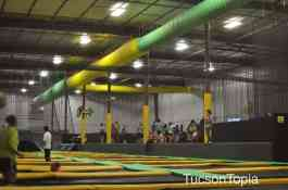 Get Air Tucson is 20,000 square feet of trampolines