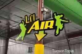 Li'l Air is an area for small children at Get Air Tucson