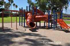 playground at Fort Lowell Park